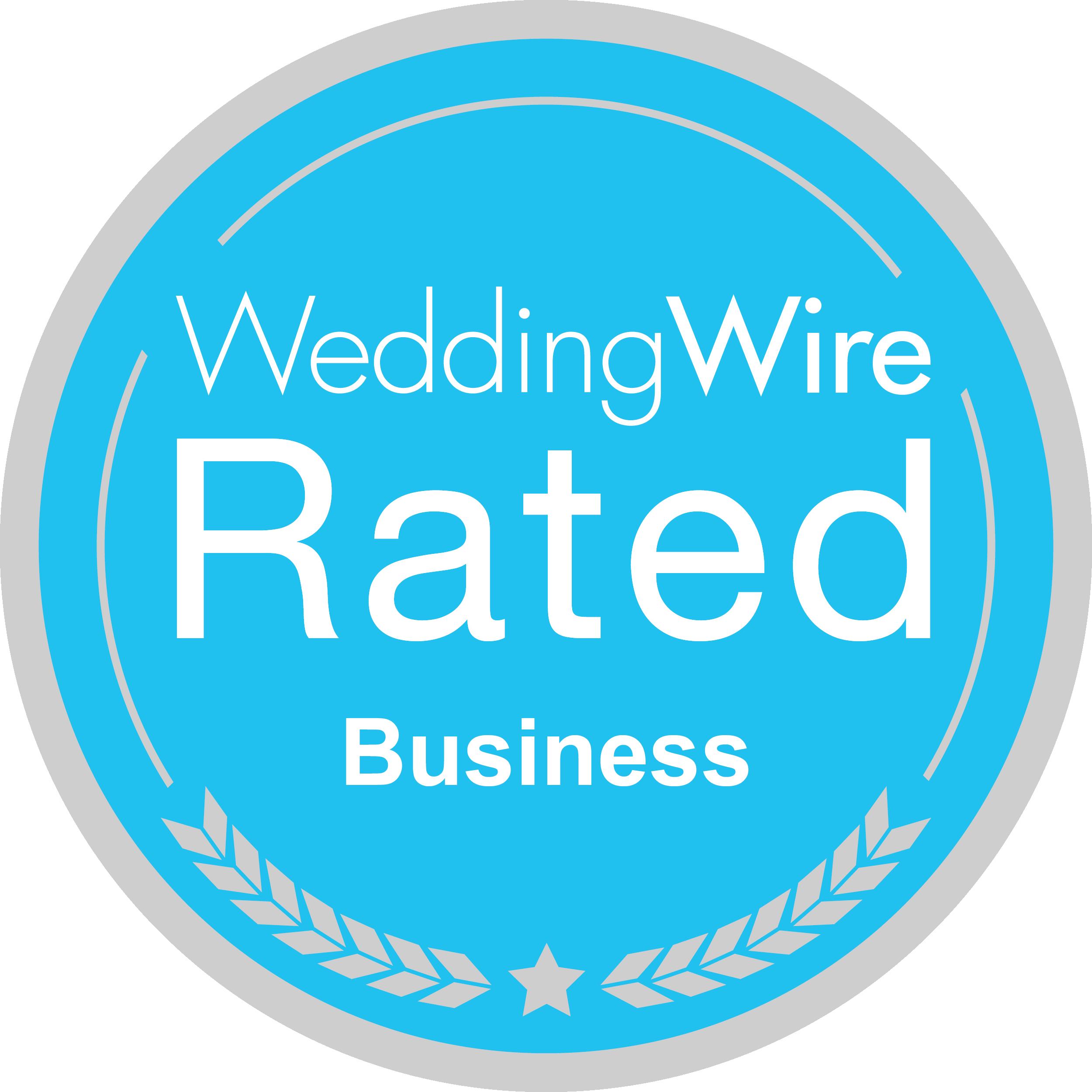 Badge: WeddingWire Rated
