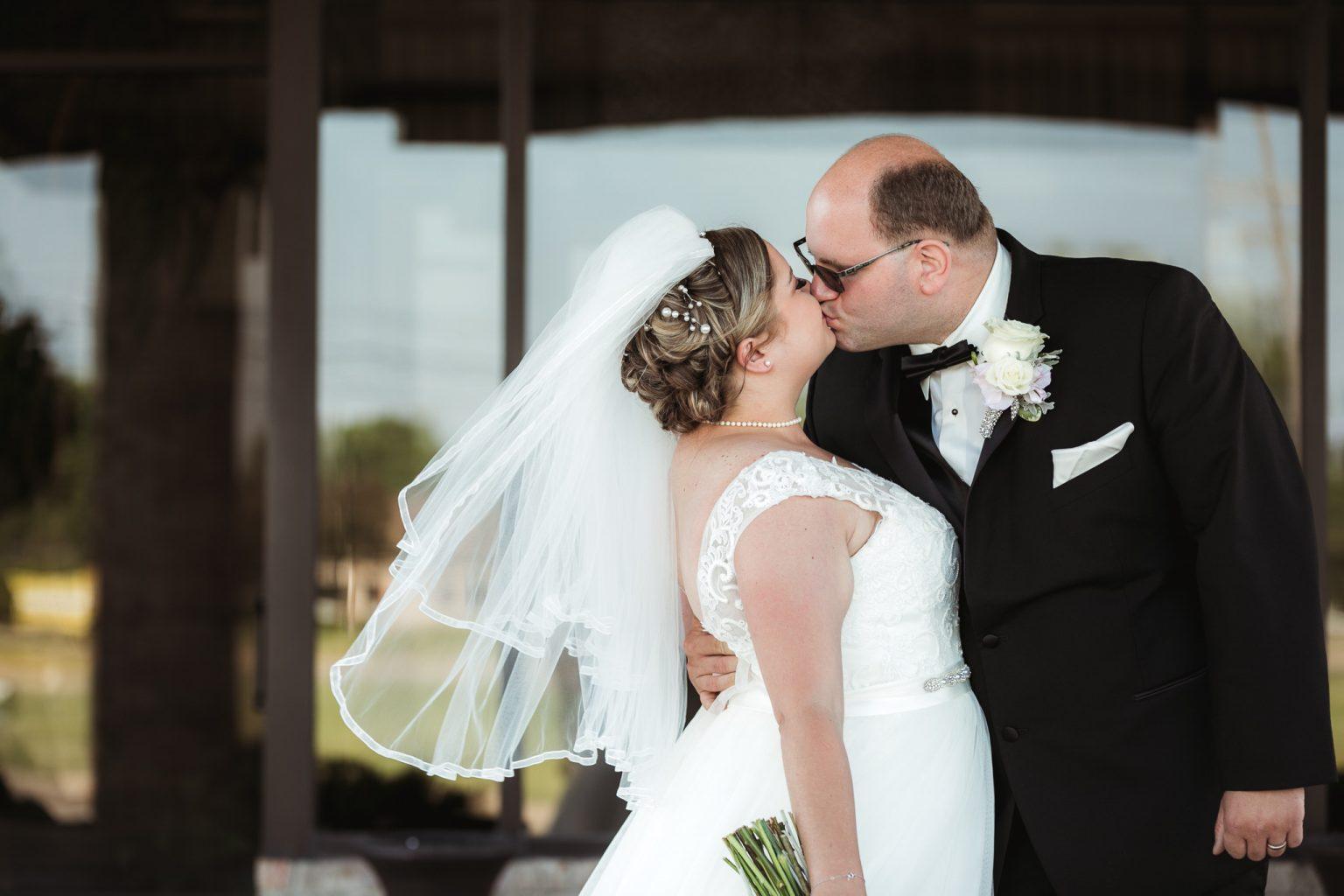 Summer wedding at Alexander's Banquet Center in Marysville, MI.