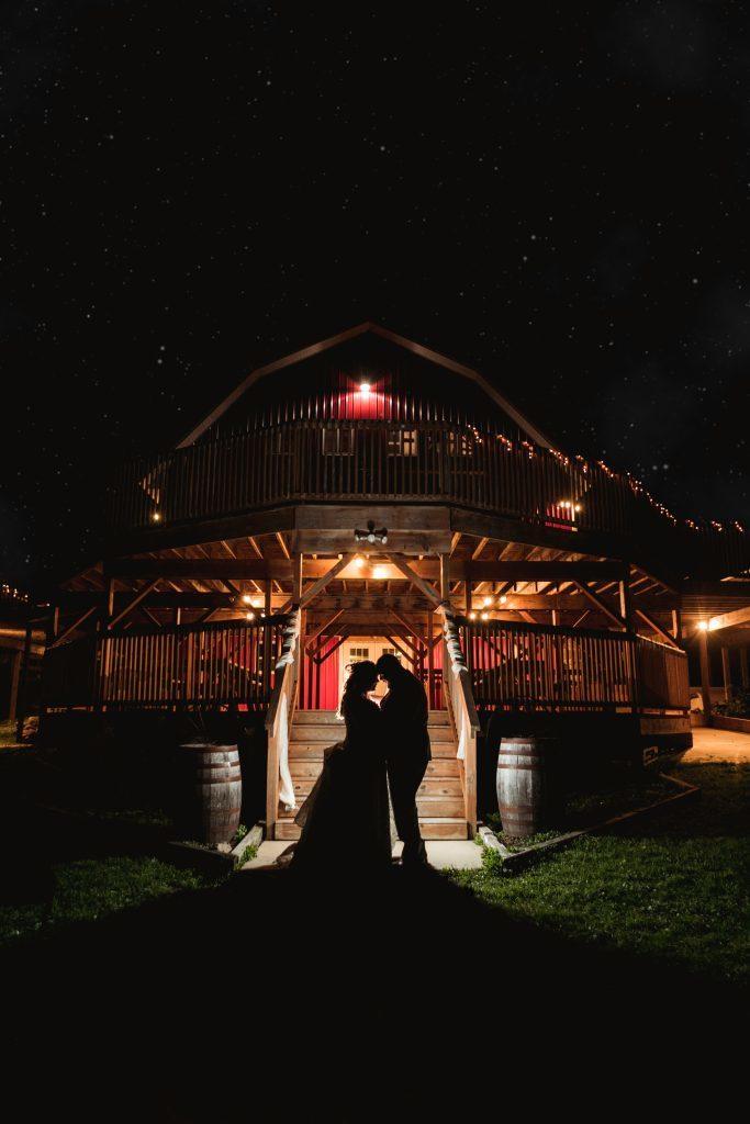 Fall barn wedding at SWJ's Emerald Hills in Edmore, MI.